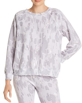 WILDFOX - Sommers Rose Camo Sweatshirt