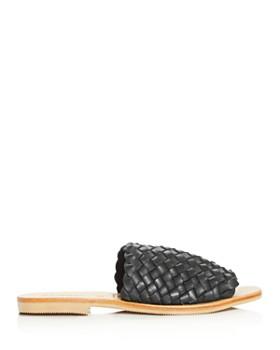 St. Agni - Women's Corfu Woven Slide Sandals