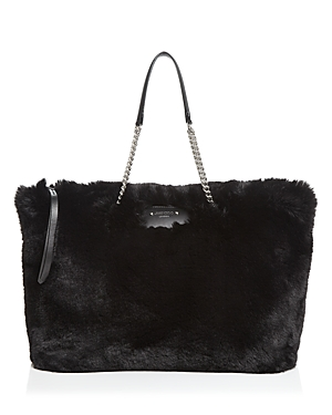 Jimmy Choo Totes ALLEGRA FAUX FUR TOTE