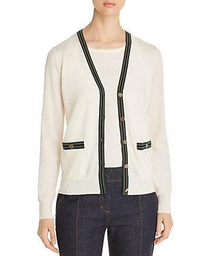 Tory Burch Tops MADELINE MERINO WOOL CARDIGAN