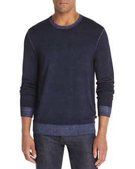 Michael Kors - Washed Merino Wool Crewneck Sweater