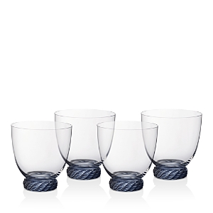 Villeroy & Boch Montauk Double Old Fashioned/Tumbler Glasses, Set of 4