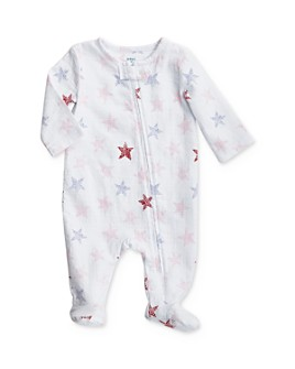 Aden and Anais - Girls' Star Print Footie - Baby