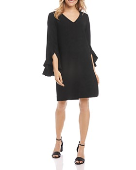 Karen Kane - Ruffle-Sleeve Dress