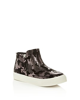 Dolce Vita - Girls' Cab Glitter Camo Sneakers - Toddler, Little Kid, Big Kid