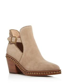 5ca3989fa COACH Women's Designer Boots: Leather, Fur & More - Bloomingdale's