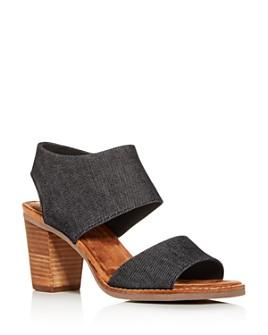 TOMS - Women's Majcut High-Heel Sandals