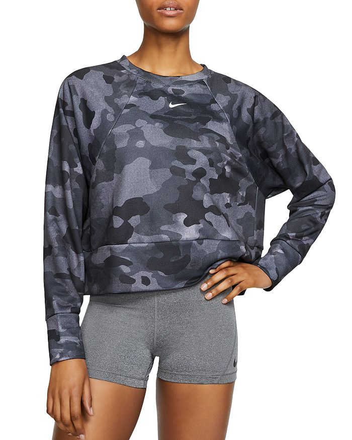 sneakers for cheap new specials amazing selection Icon Camo Cropped Sweatshirt