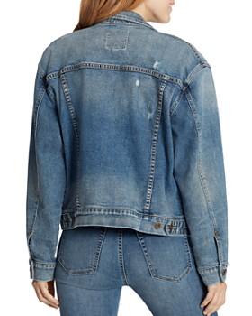 Ella Moss - Distressed Denim Jacket