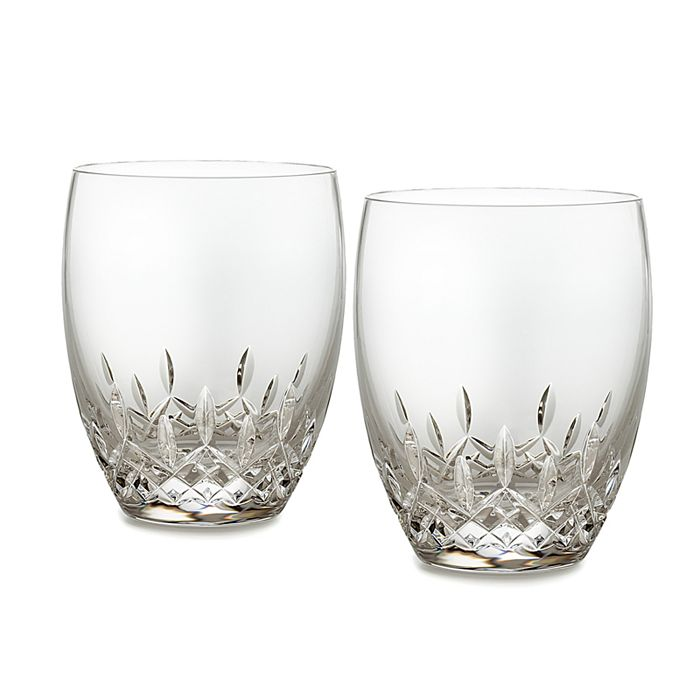 Waterford - Lismore Essence Double Old Fashioned Glass, Set of 2
