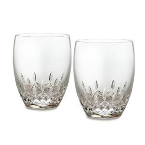 Waterford Lismore Essence Double Old Fashioned Glass, Set of 2