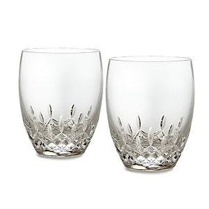 Waterford Lismore Essence Double Old Fashioned Glass, Set of 2-Home
