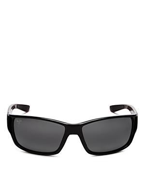 Unisex Local Kine Polarized Rectangular Sunglasses
