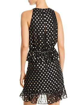 LINI - Skylar Metallic Polka Dot Dress - 100% Exclusive