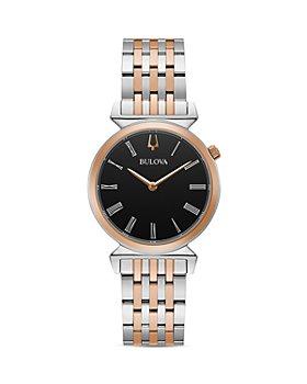 Bulova - Regatta Slim Two Tone Link Bracelet Watch, 30mm