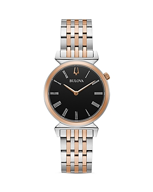 Regatta Slim Two Tone Link Bracelet Watch