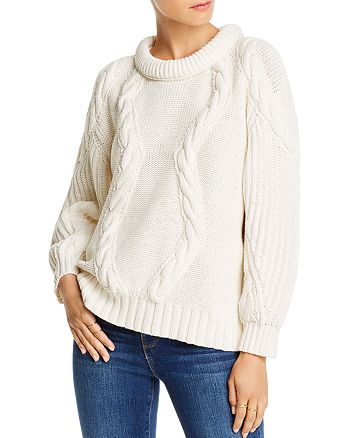 LINI - Alyssa Cable-Knit Sweater - 100% Exclusive