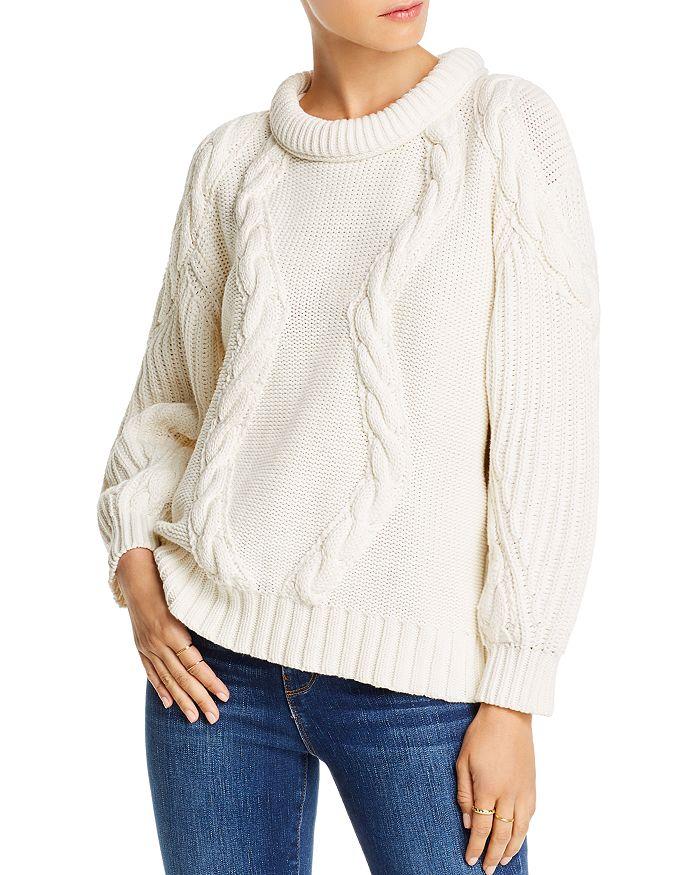LINI - Alyssa Cable-Knit Sweater - 100% Exclusive