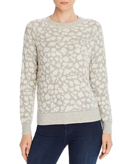 Rebecca Taylor - Leopard Print Sweater - 100% Exclusive