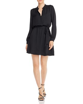 Joie - Leonore Belted Faux-Wrap Dress