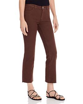 Vero Moda - Sheila Mr. Slim Kick Flare Jeans in Coffee Bean