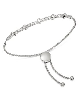 Bloomingdale's - Diamond Milgrain Bolo Bracelet in 14K White Gold, 1.0 ct. t.w. - 100% Exclusive