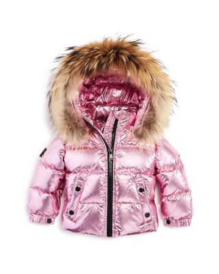 NY Deluxe Edition Girls Fleece Parka Coat Jacket Faux Fur Hooded Long Winter Coats Age 7 to 13 Years