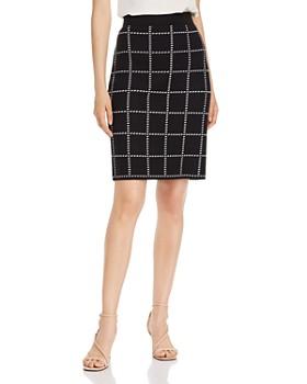 Calvin Klein - Sweater-Knit Pencil Skirt