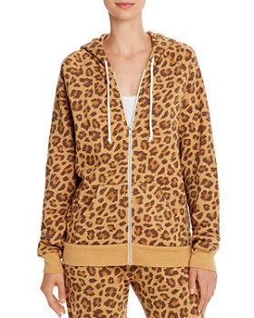 ALTERNATIVE - Adrian Leopard Print Fleece Hoodie - 100% Exclusive