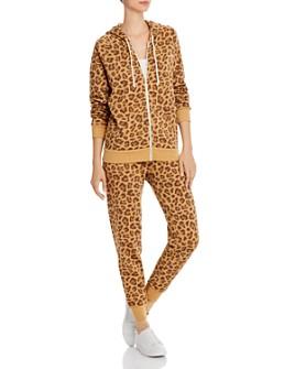 ALTERNATIVE - ALTERNATIVE Leopard Hoodie & Jogger Pants - 100% Exclusives