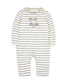 Albetta - Unisex Striped Owl Coverall - Baby