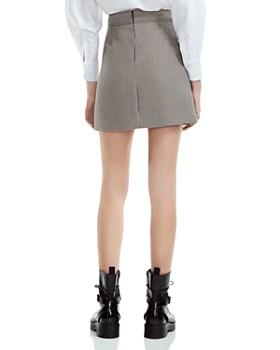 Maje - Joldi Houndstooth Mini Skirt