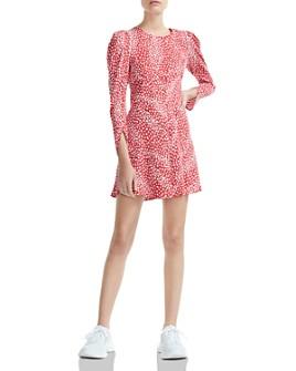 Maje - Romie Animal-Print Mini Dress