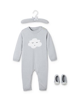Elegant Baby - Unisex Sleepy Cloud Coverall & Booties Set, Baby - 100% Exclusive