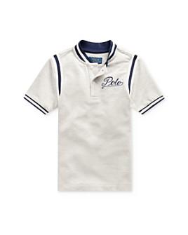 Ralph Lauren - Boys' Mesh Tiger Baseball Tee - Little Kid