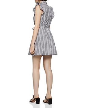 BCBGENERATION - Striped Chambray Shirt Dress