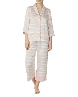 kate spade new york - Classic Zebra-Printed Pajama Set