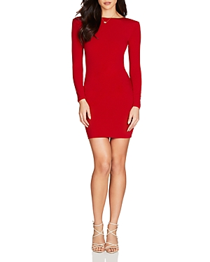 Nookie Illegal Long-Sleeve Mini Dress