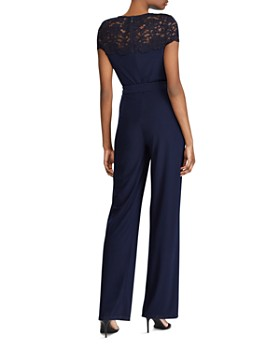 Ralph Lauren - Lace Yoke Jersey Jumpsuit