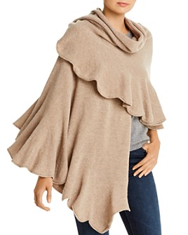 Lane d'Olimpia - Scalloped Knit Wrap