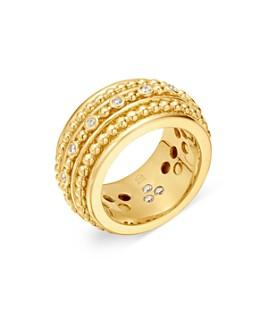 Temple St. Clair - 18K Yellow Gold Celestial Diamond Sassini Band
