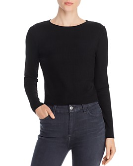 COMUNE - Zuma Long Sleeve Cropped Tee