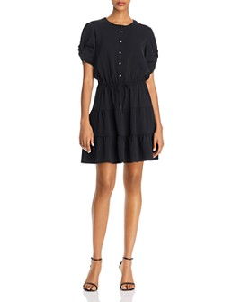Rebecca Minkoff - Aston Tiered Button-Front Dress