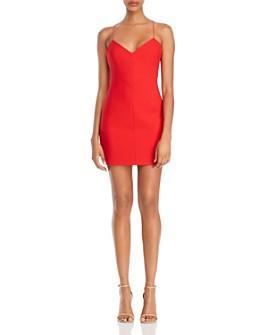 LIKELY - Kirkland Back-Strap Detail Mini Dress
