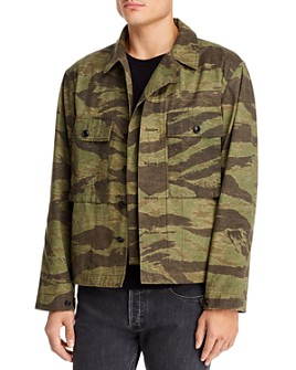 EASTLOGUE - Camo Military Jacket