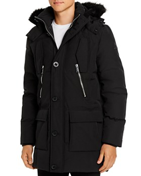 KARL LAGERFELD Paris - Faux Fur-Trimmed Quilted Parka