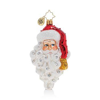 Christopher Radko - Grinning Santa Ornament