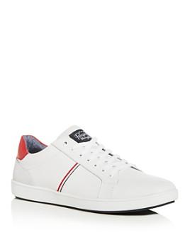 Original Penguin - Men's Leo Leather Low-Top Sneakers