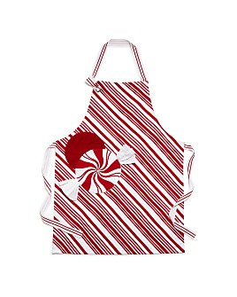 Two's Company - Peppermint Apron with Pot Holder
