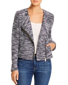 Bagatelle - Knit Moto Jacket